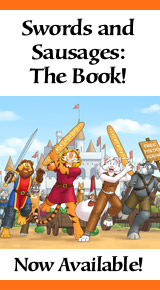 Swords and Sausages book