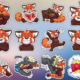 Ayu Paws stickers